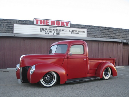 40 ford pick-up, will restore an old truck one day