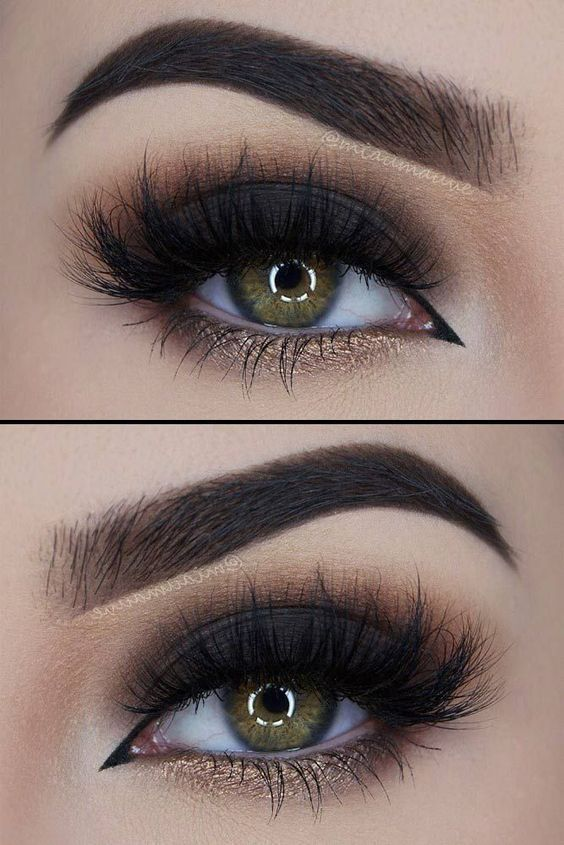 21 Sexy Smokey Eye Makeup Ideas to Help You Catch His Attention See more: glaminati.com/... #makeupideas #eyemakeupsmokey