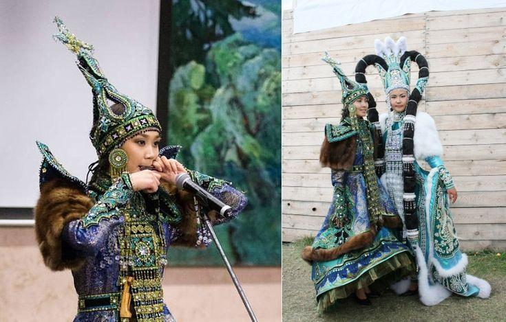 Якутский национальный костюм (44 фото): для девочки-якутяночки, женщин и мужчин Якутии