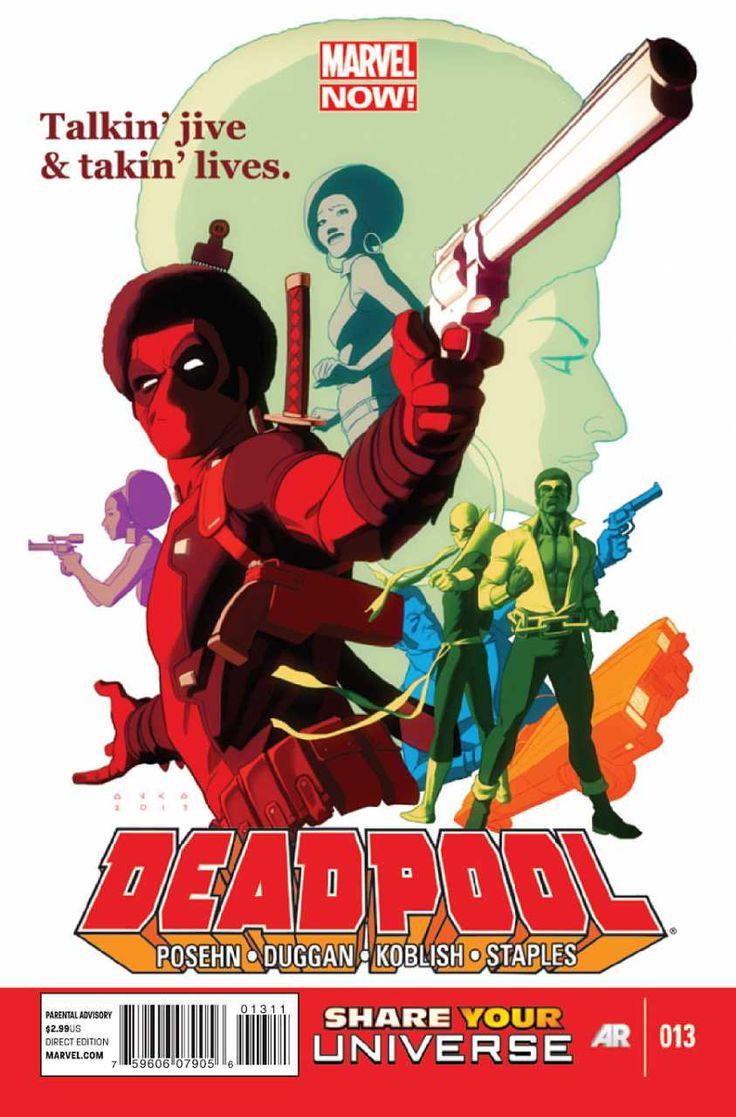 Deadpool #13 - Deadpool, Power Man and Iron Fist (Issue)