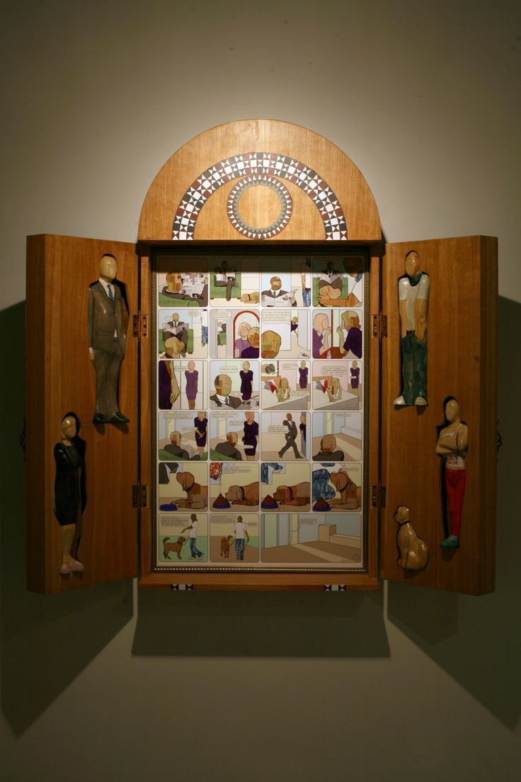 family box. 2010. wood & c-print