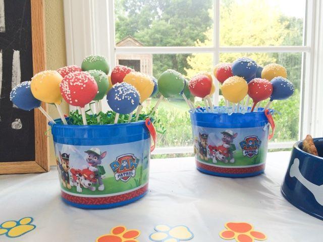 Mumma's Corner: Paw Patrol Paw-ty Cake Pops!