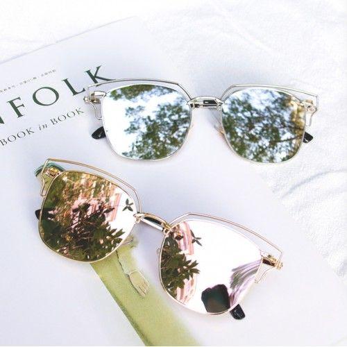 韓国インスタ映えサングラス有名人芸能人女性レディース古典レトロUVカット眼鏡海辺おしゃれファッションスめがねサングラス人気スナップコーデ丸顔水銀ミラーレンズサングラス