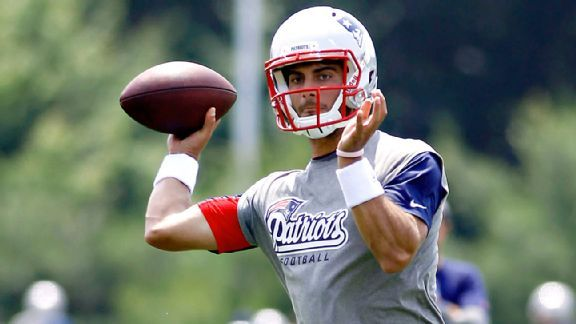 """Get Ready To Lose 4 Games, New England!"" By Patriots Backup QB Jimmy Garoppolo"