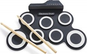 Digital Drum Pad with Drum Sticks