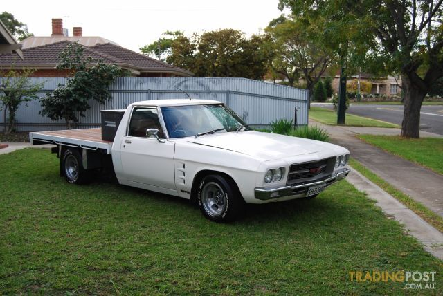 My classic Holden One Tonner
