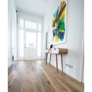 Oak flooring | Godfrey Hirst | Get this look with Regal Oak Timber flooring in Astor. This interior was created by Brooke and Mitch on The Block NZ. #godfreyhirst #theflooringexperts #godfreyhirstflooring #regaloak #oakfloors #timberfloors #oakflooring #theblocknz #theblock #timberflooring