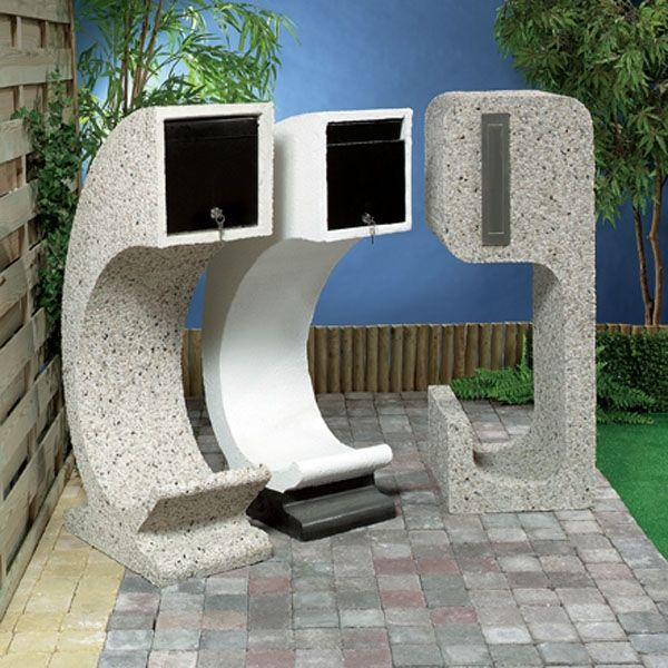 1000+ Ideas About Contemporary Mailboxes On Pinterest | Modern