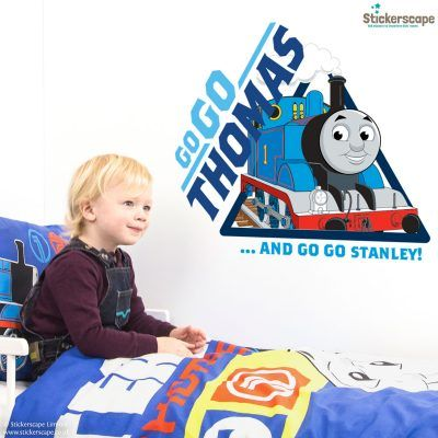 Our Thomas the tank engine wall stickers are the perfect accessory for any Thomas and Friends fan to decorate their room. Easy to apply and removes cleanly.