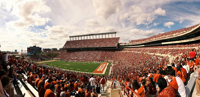 Football at the University of Texas in Austin
