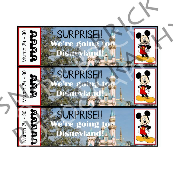 It's just a photo of Vibrant Printable Disney Tickets