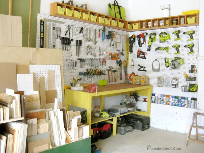 garage organization ideas pegboard - 25 Best Ideas about Pegboard Garage on Pinterest