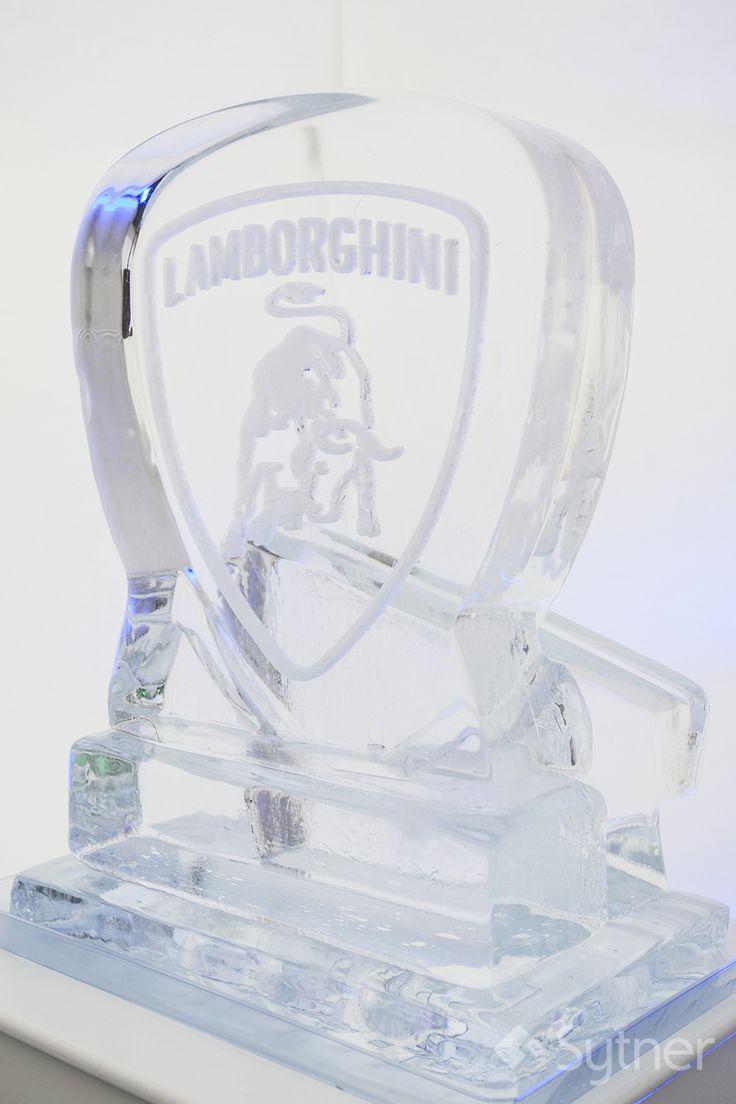 Lamborghini Ice Sculpture