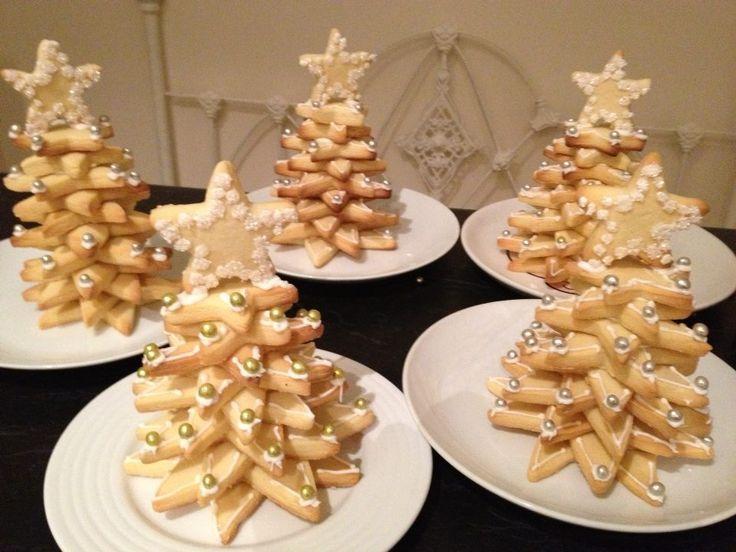 Shortbread Christmas trees
