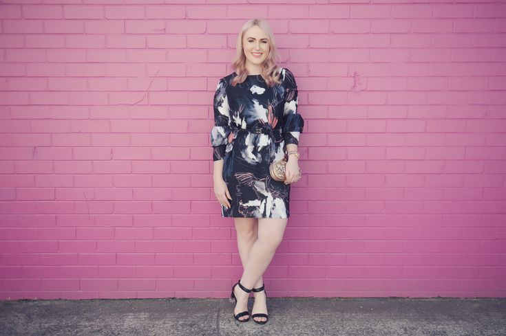 Tickled Pink | The Blonde Silhouette