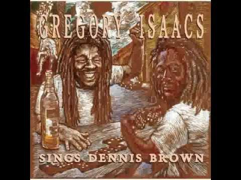 Gregory Isaacs Sings Dennis Brown - YouTube