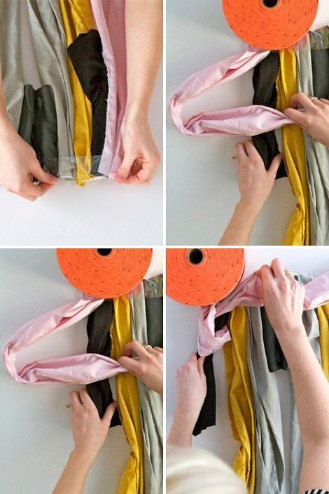 Hacer alfombra con telas recicladas | Manualidades fáciles ...