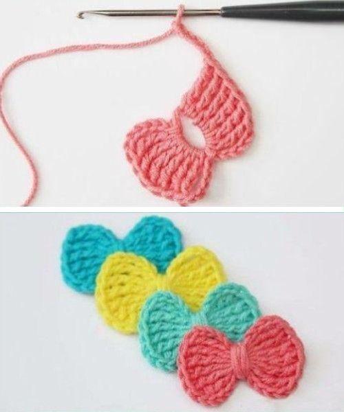 Easy Treble Stitch Bow – Free Pattern (Beautiful Skills – Crochet Knitting Quilting)