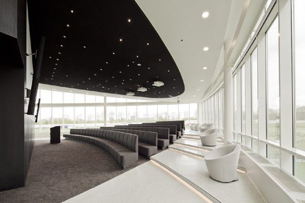 Considered One of the Best Workspaces in Europe : Eneco Headquarters [http://eneco.com/] in Rotterdam / @freshome | The collaboration between Hofman Dujardin Architects [http://www.hofmandujardin.nl/] and Fokkema & Partners [http://www.fokkema-partners.nl/] [...] new building is the perfect example of how clever and efficient office design can offer employees the possibility to work flexibly in a dynamic, open, sustainable and healthy environment. The 14-floor, 25,000m2 [...] | #workspaces