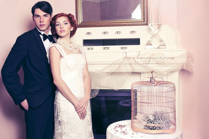 wedding, bride, groom,  vintage, belle epoque, czech republic, eventista