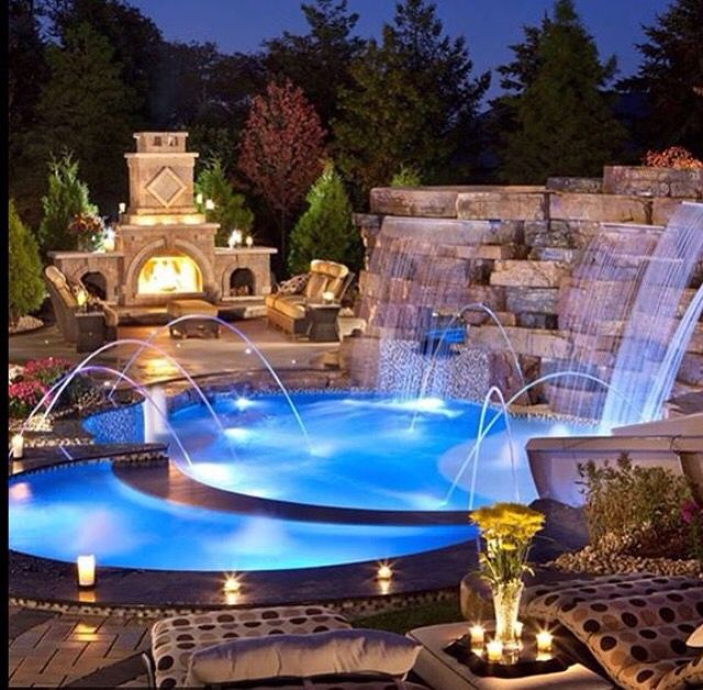 Cool Shaped Pools: 173 Best Images About Great Pool Designs On Pinterest