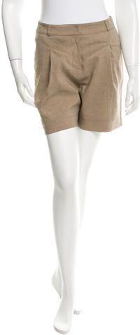 Burberry London High-Rise Mini Shorts w/ Tags