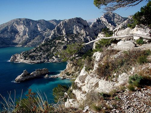 Les Calanques in Southern France