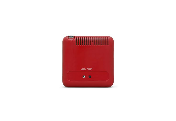 RADIO.CUBO TS522D+ Rosso  by Brionvega Collection. #LoudPersonality #bluetooth #dab #remotecontrol #fm #alarmclock #italian #design #radiocubo