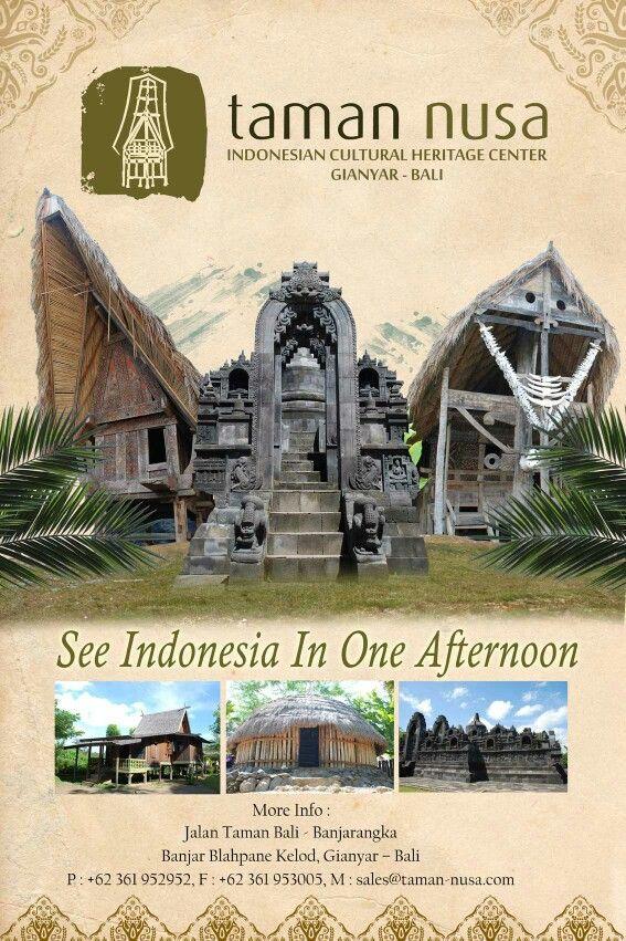 Taman Nusa in Gianyar Bali