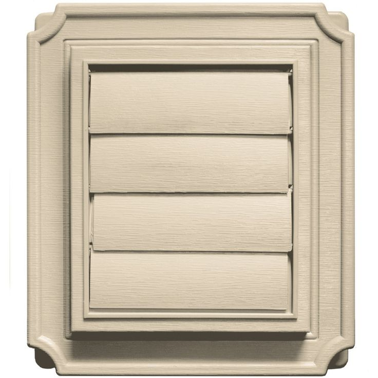 Builders Edge 140137079049 Scalloped Exhaust Vent 049, Almond >>> Details can be found by clicking on the image.