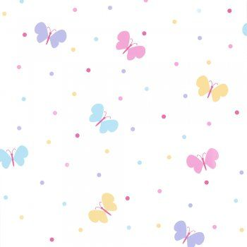 Fun4Walls Butterfly Garden Childrens Kids Wallpaper