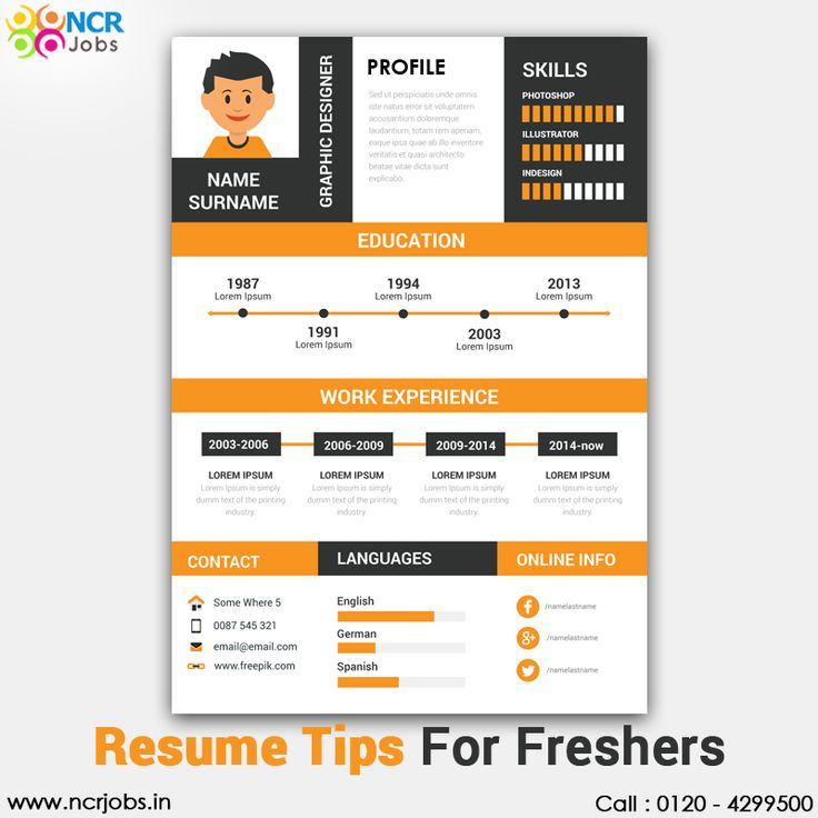 Now the #ResumeTipsForFreshers are available on the prominent job portal. It proves beneficial for the fresher candidate because the resume is the first impression in front of the recruiter. Here the applicants know about the tricks of making an impressive resume so that they can attract the interviewer. See more @ http://bit.ly/2ivN02M Download App @ http://bit.ly/2nxOUn3 #NCRJobs #ResumeTips