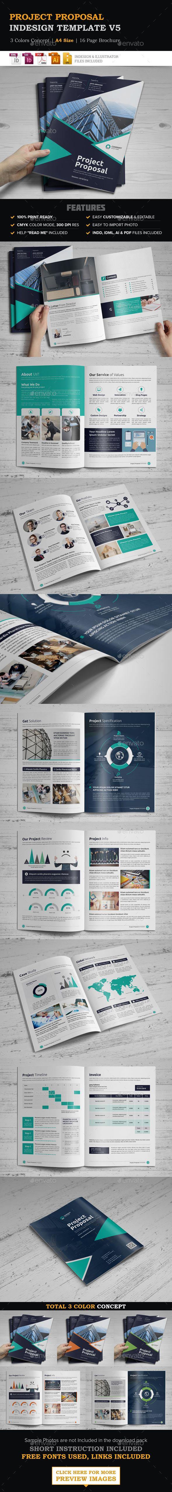 Project Proposal InDesign Template v5 26 best