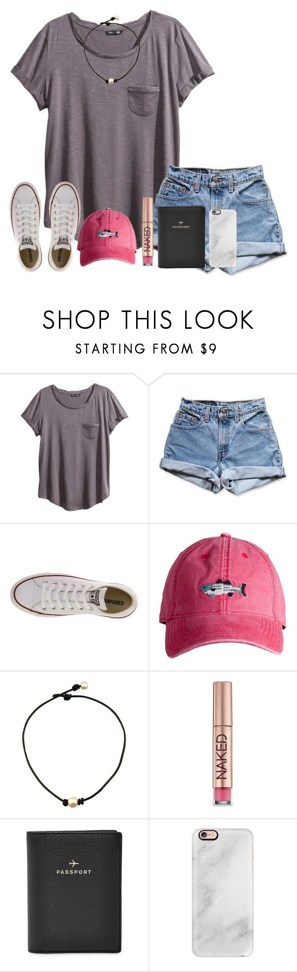 Always stay humble and kind. by rachelrae002 on Polyvore featuring H&M, Levi's, Converse, FOSSIL, Casetify and Urban Decay