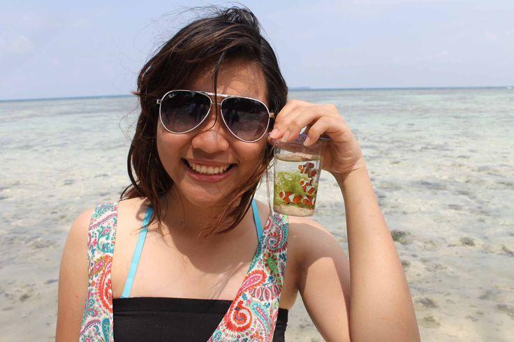 Finding Nemo. Karimun Jawa, Indonesia