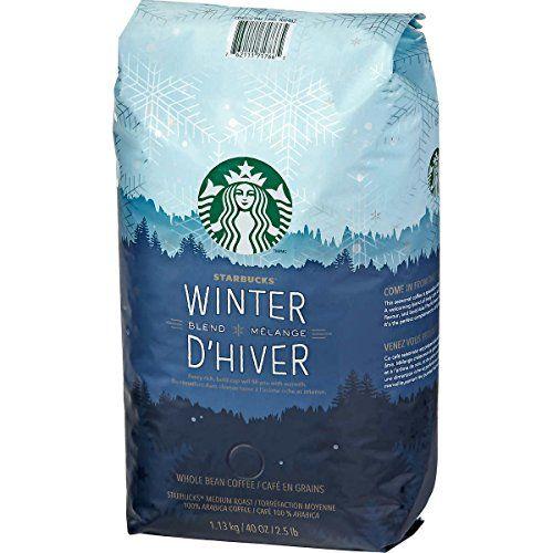 Starbucks Winter Blend Melange DHiver Whole Bean Coffee 40