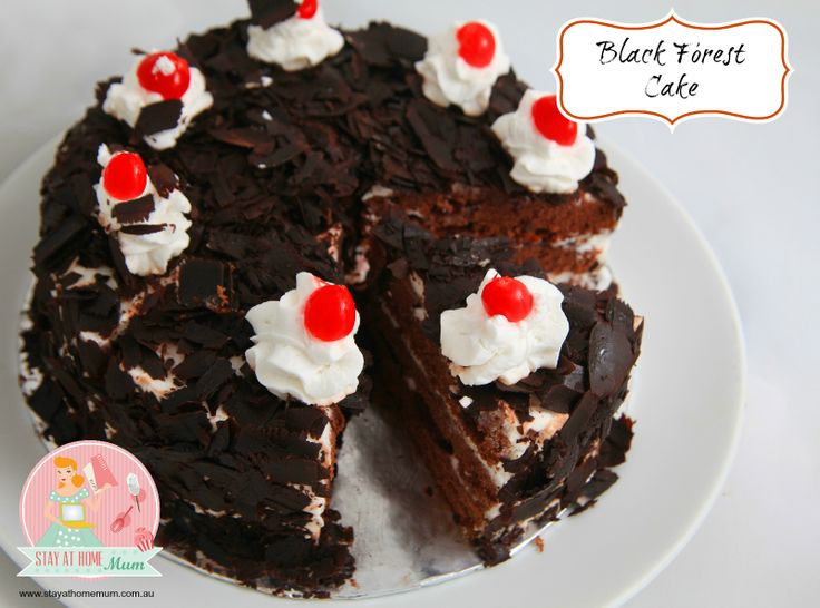 Black Forest Cake | Stay at Home Mum
