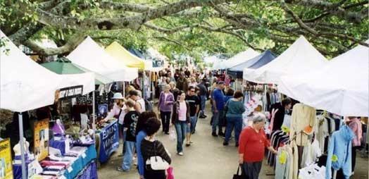 Eumundi Markets, Eumundi, Sunshine Coast, Australia. Craft and vintage market that never ends!