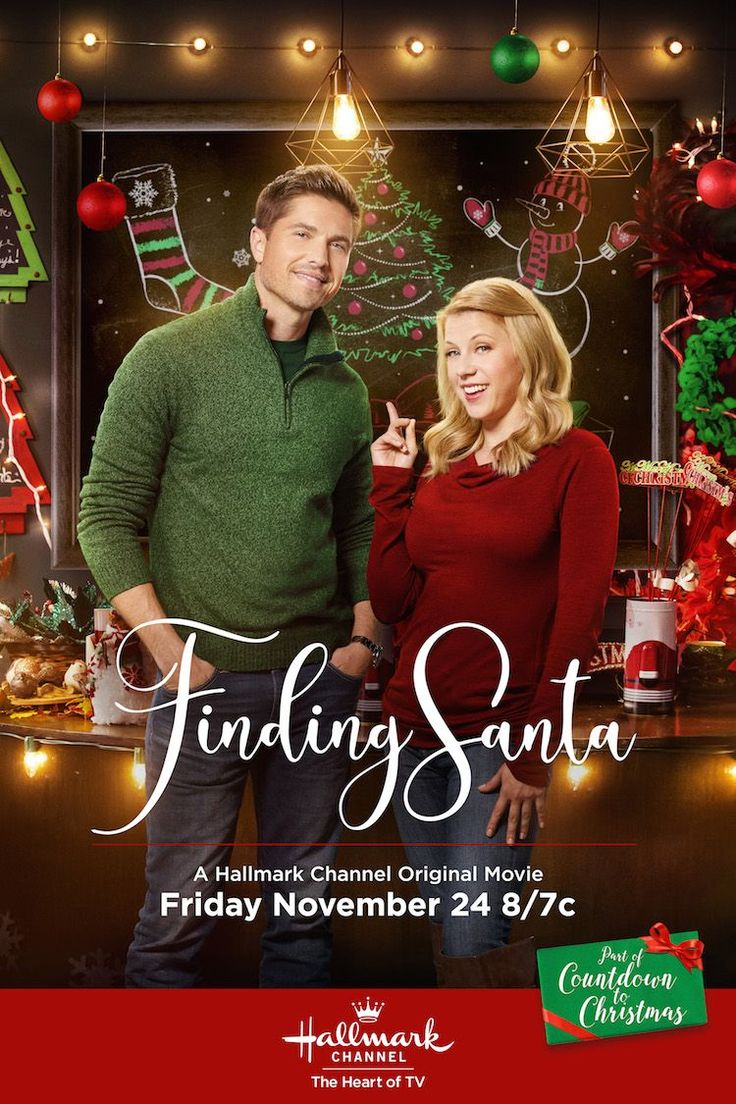 Finding Santa Jodie Sweetin and Eric Winter come