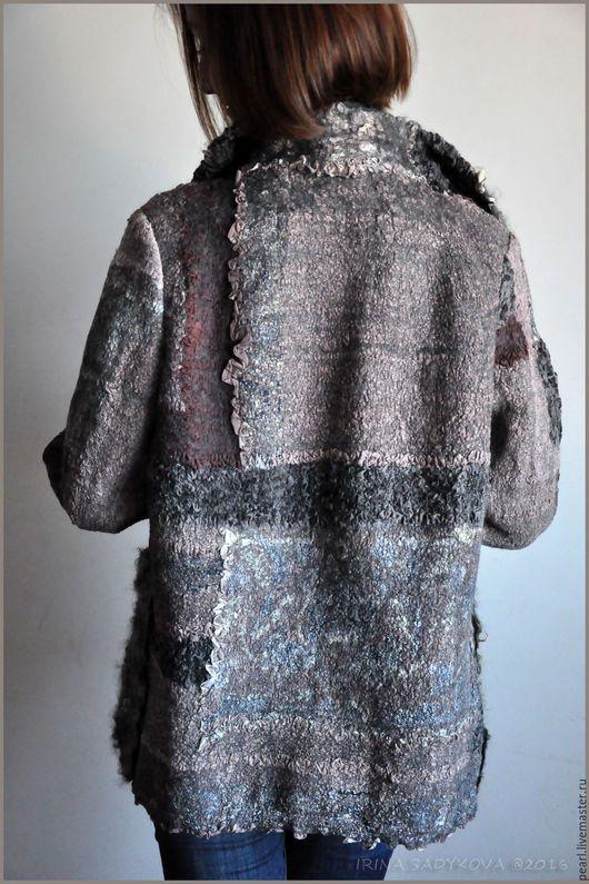 Верхняя одежда ручной работы. Куртка