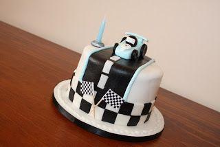 bakingmama 俏媽咪烘焙坊: Race Car Birthday Cake