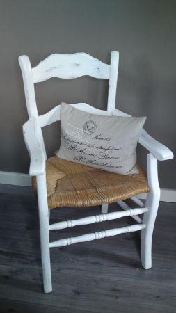 Landelijk brocante stoeltje