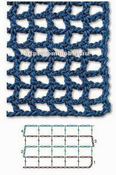 Para ti que te encanta el crochet, estas hermosas muestras van a inspirarte verdaderamente. Son puntos calados, y tienen la característica d...