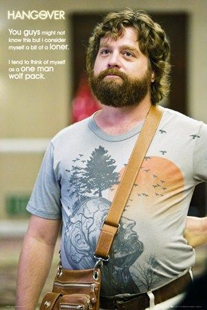 A One Man Wolf Pack - The Hangover