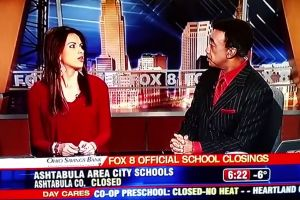 A local Fox News anchor made a racist slur while recapping Lady Gaga's Oscars performance