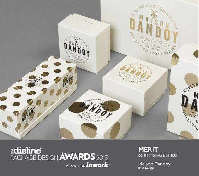 The Dieline Package Design Awards 2013: Confectionary, Snacks, & Desserts, Merit - Maison Dandoy #packaging