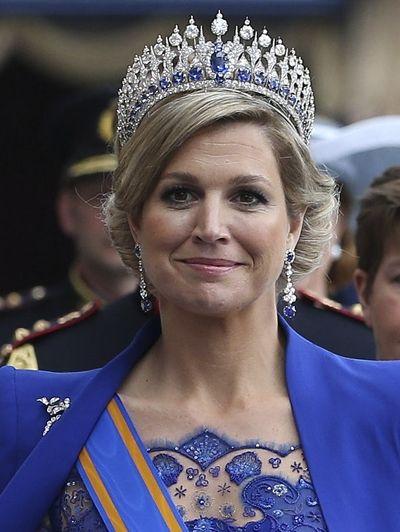 De jurken van koningin Maxima tijdens de feestelijkheden op 29 en 30 april 2013.