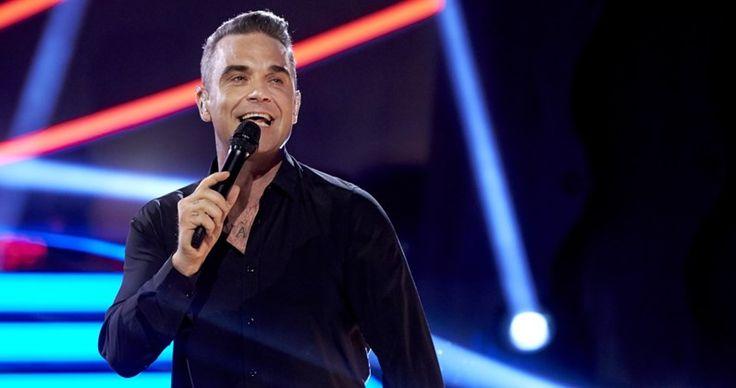 Robbie Williams is racing towards his 12th UK Number 1 album