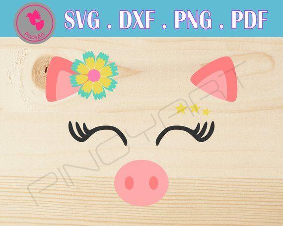 Download Pig Svg, Pig Clip Art, Hog Svg, Pig Face Svg, Piggy Svg ...