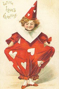 Papierdier - Cavallini&Co - Valentines - with love's greeting
